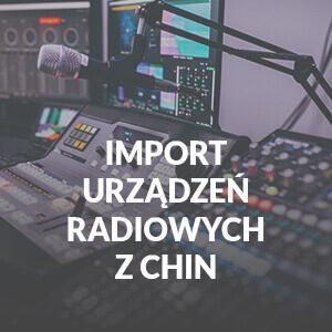 urządzenia radiowe chiny