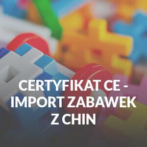 import zabawek z chin